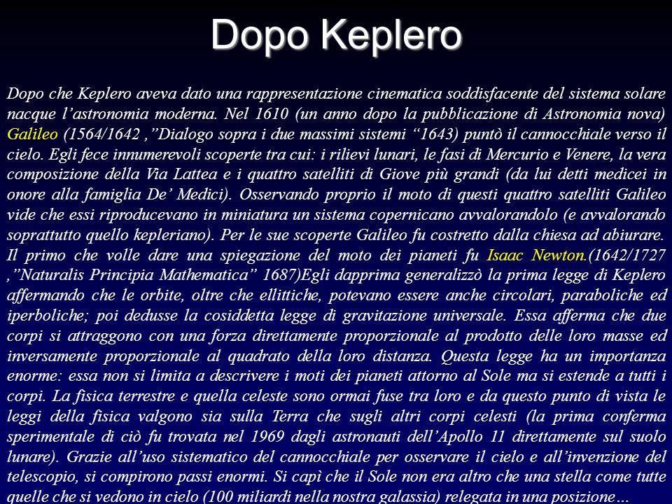Dopo Keplero