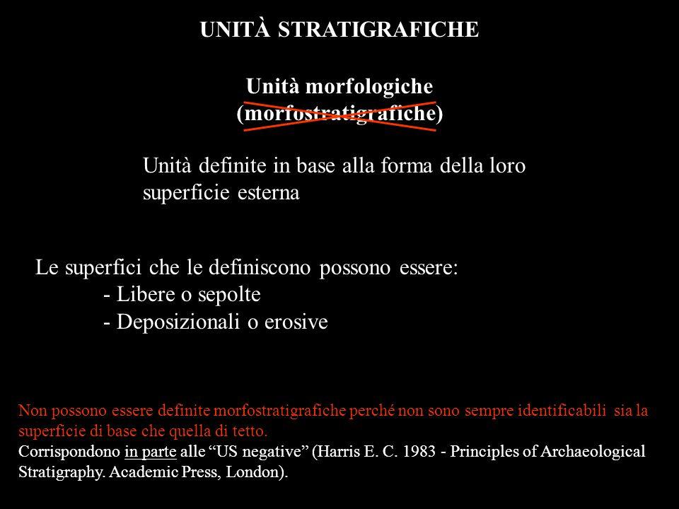 (morfostratigrafiche)
