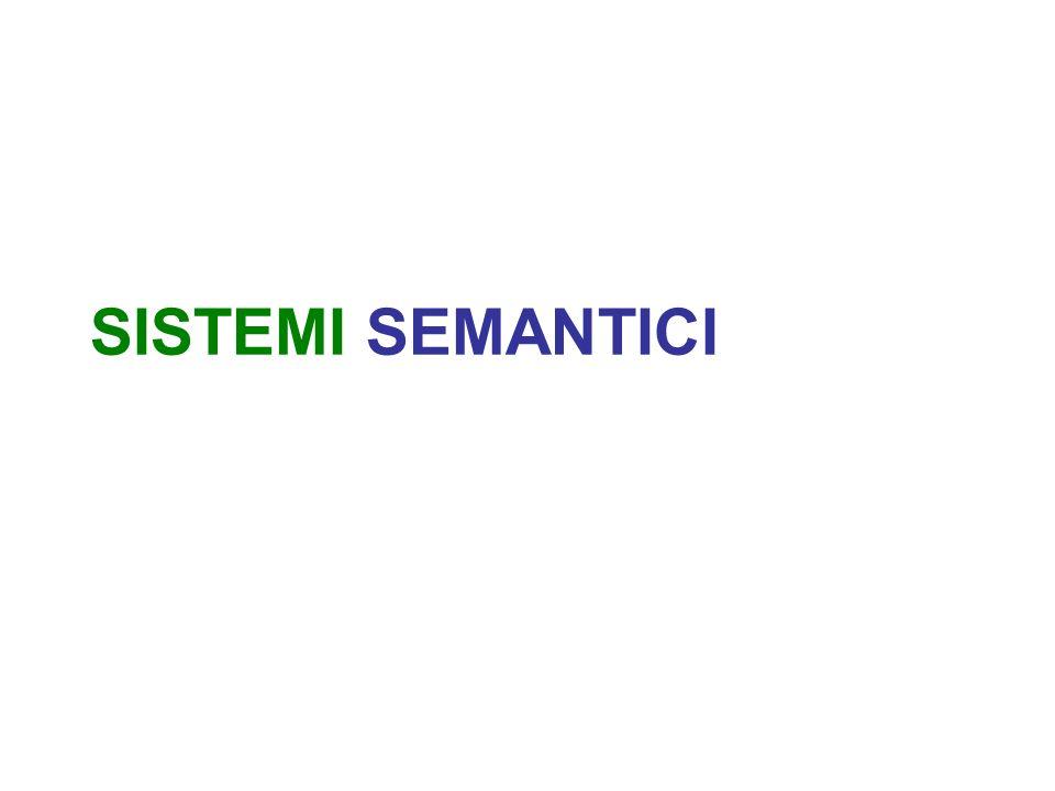 SISTEMI SEMANTICI