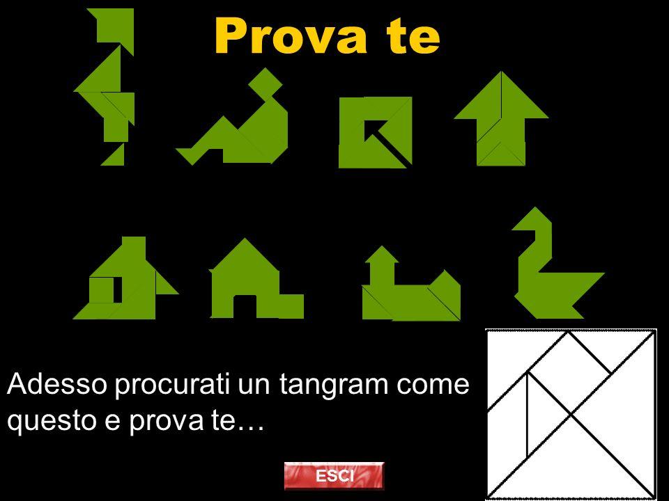 Prova te Adesso procurati un tangram come questo e prova te… ESCI