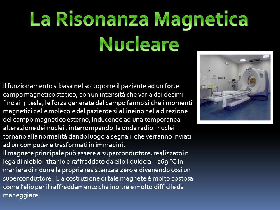 La Risonanza Magnetica Nucleare