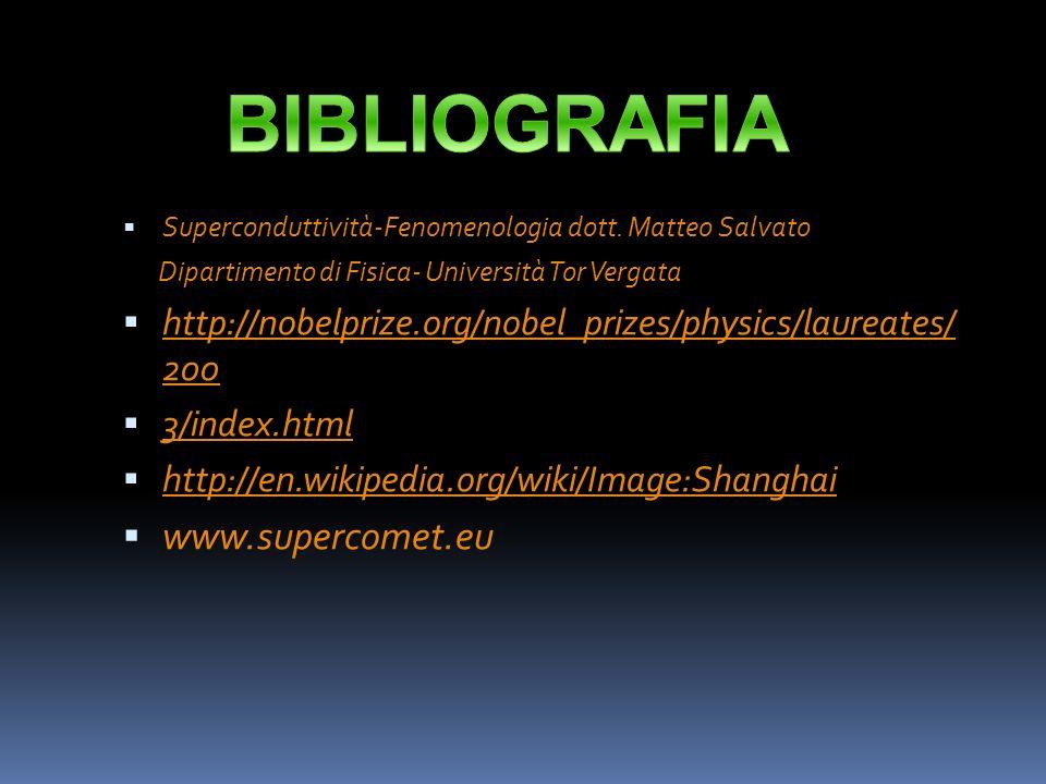 BIBLIOGRAFIA www.supercomet.eu