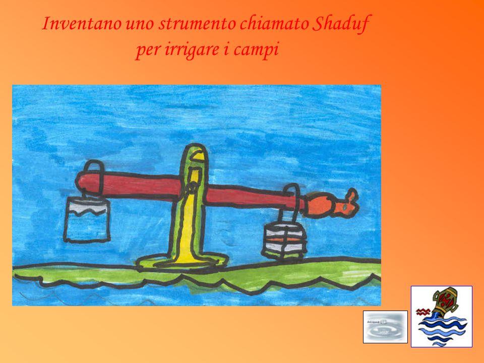 Inventano uno strumento chiamato Shaduf