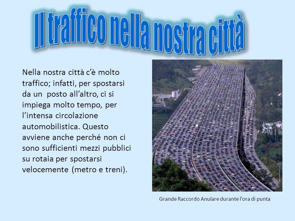 Il traffico nella nostra città