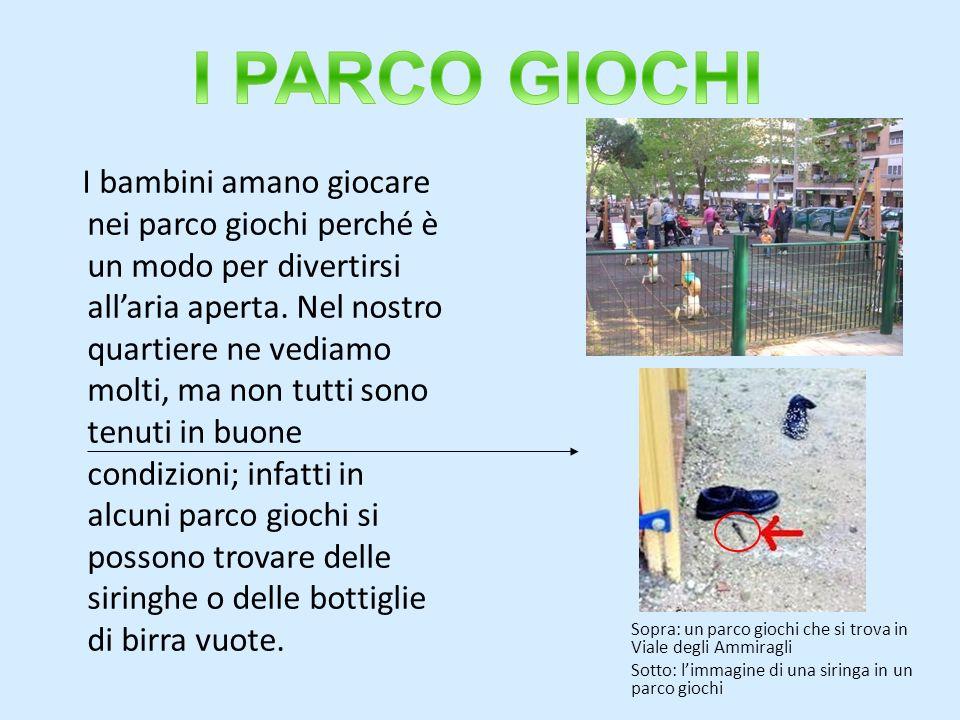 I PARCO GIOCHI