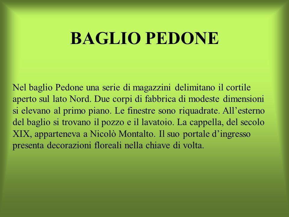 BAGLIO PEDONE