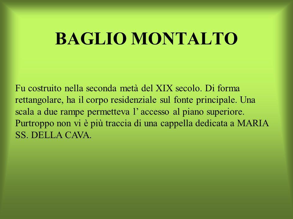 BAGLIO MONTALTO