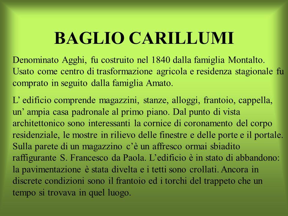 BAGLIO CARILLUMI