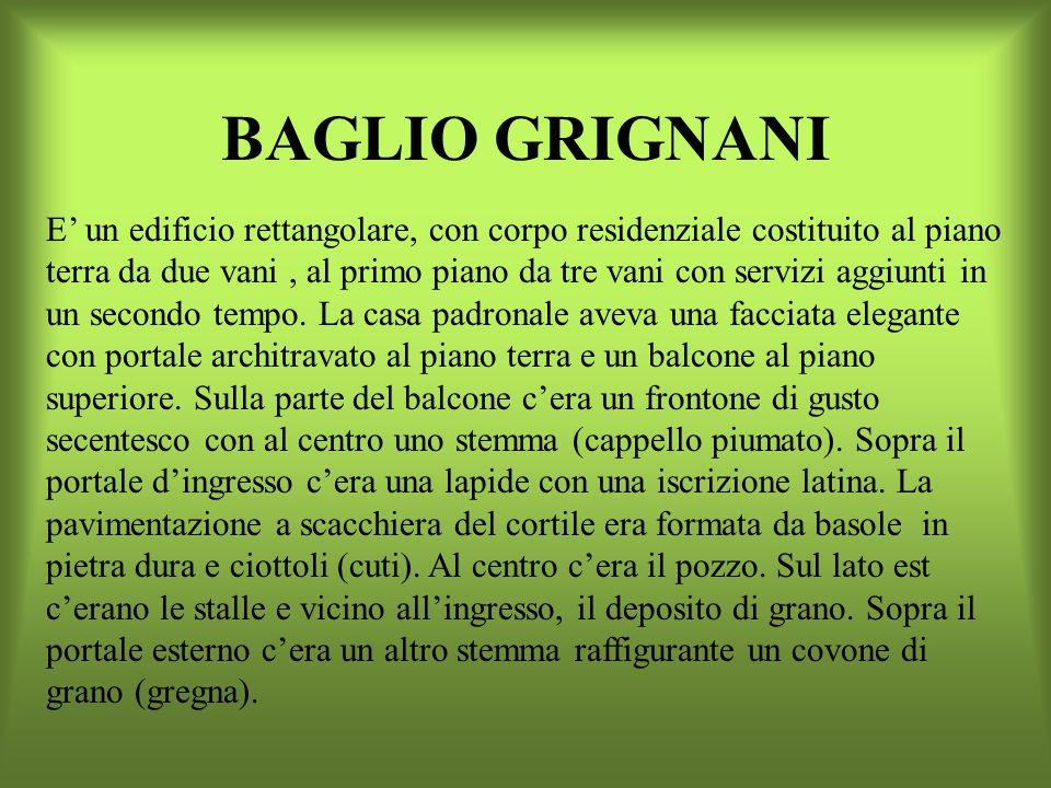 BAGLIO GRIGNANI