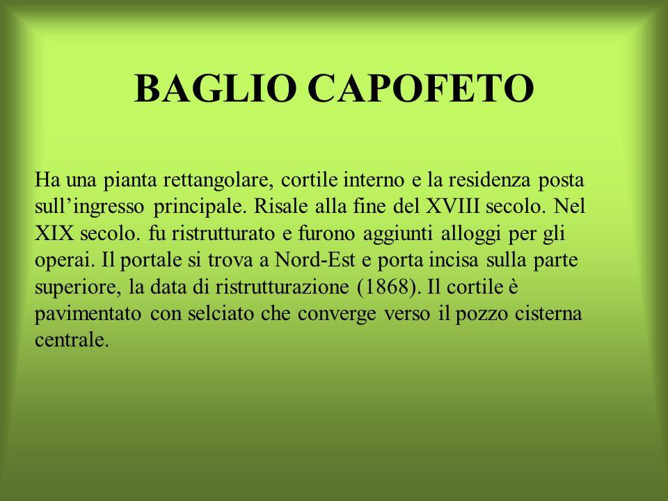 BAGLIO CAPOFETO
