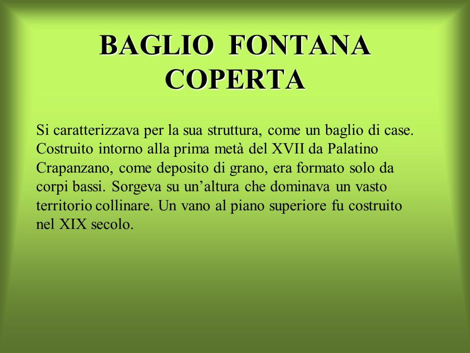 BAGLIO FONTANA COPERTA