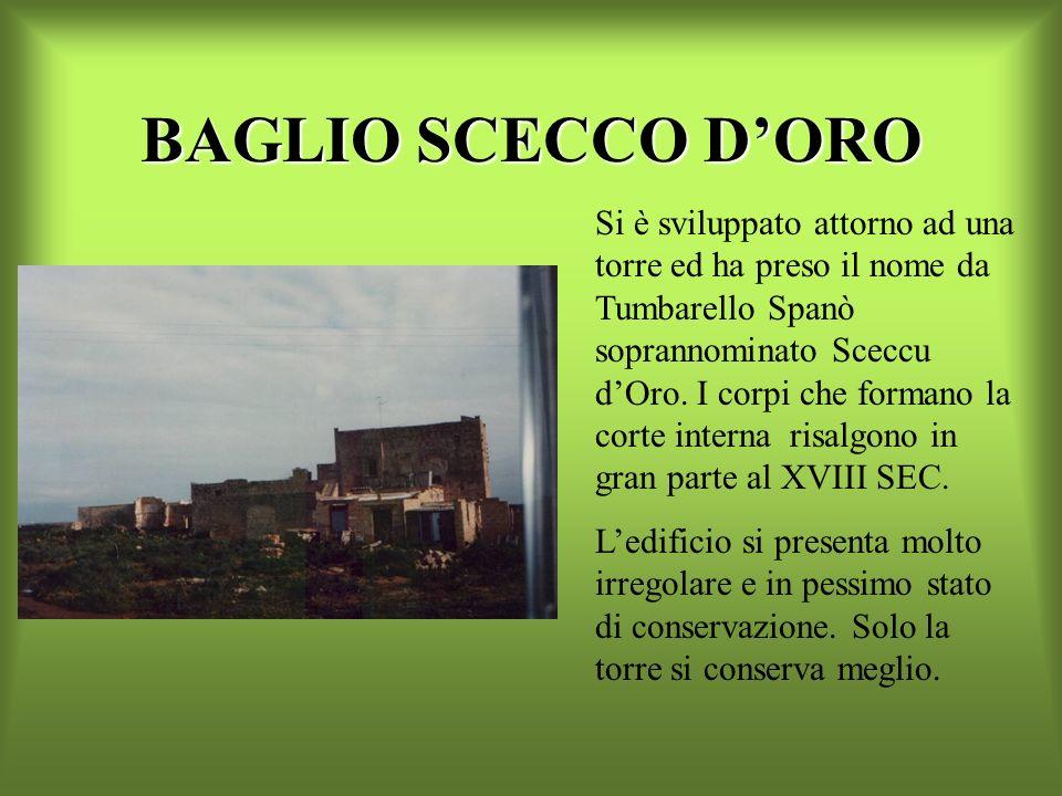 BAGLIO SCECCO D'ORO