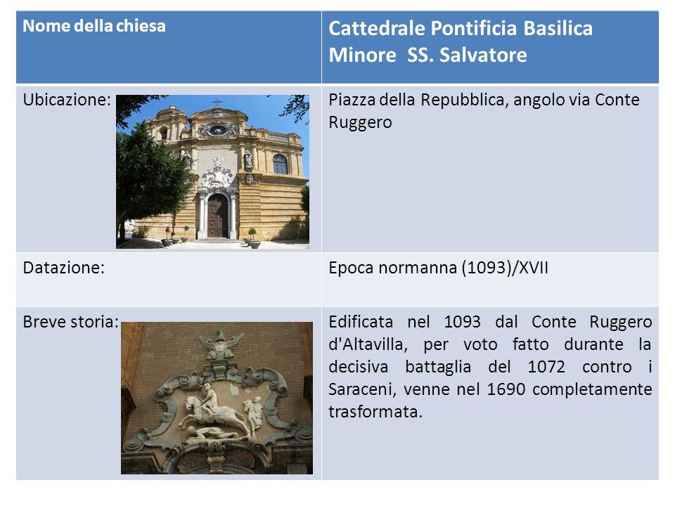 Cattedrale Pontificia Basilica Minore SS. Salvatore