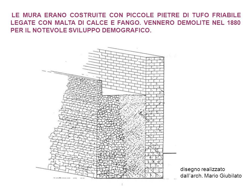 disegno realizzato dall'arch. Mario Giubilato