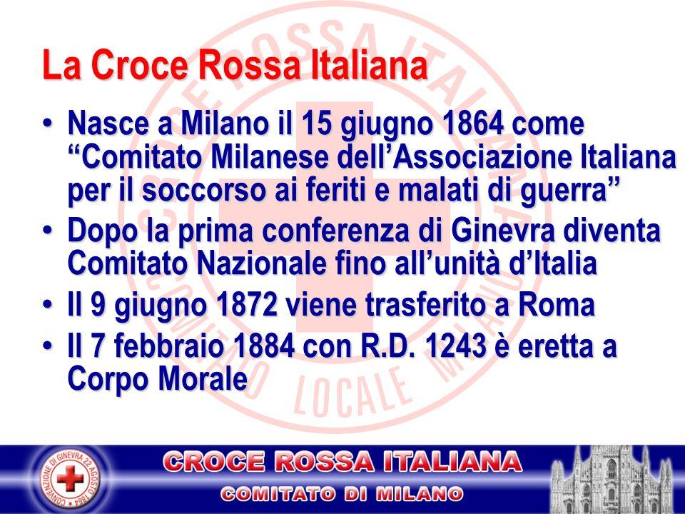 La Croce Rossa Italiana