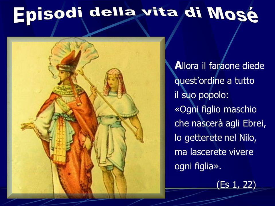 Episodi della vita di Mosé