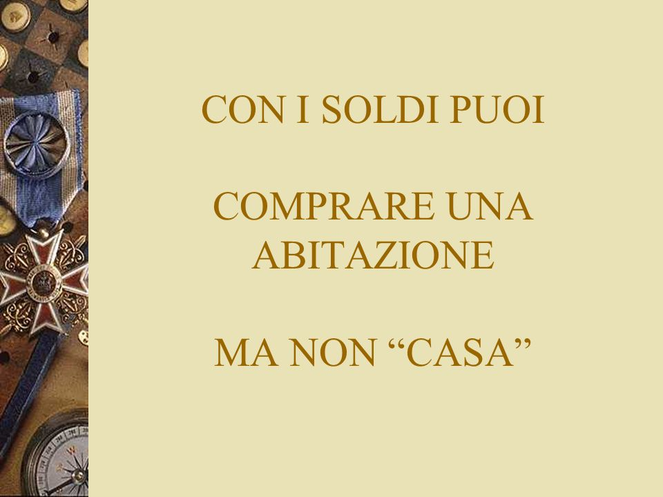 Proverbio cinese ppt video online scaricare for Comprare piani casa online
