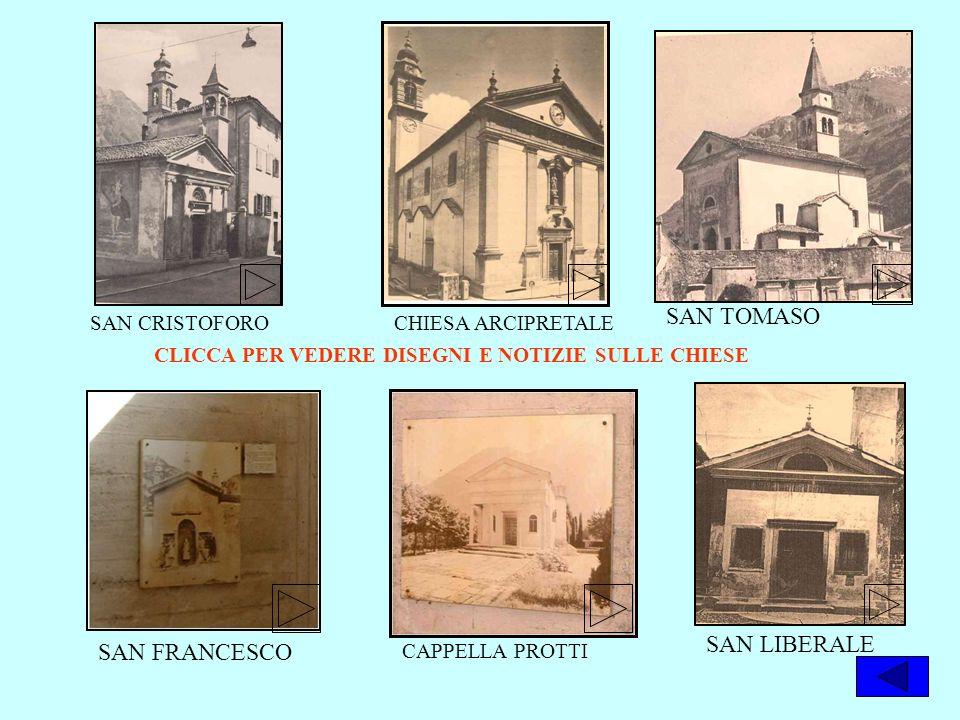 SAN TOMASO SAN LIBERALE SAN FRANCESCO SAN CRISTOFORO