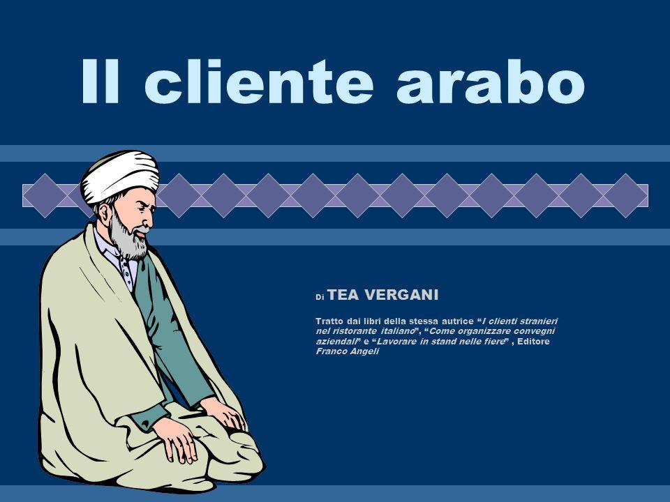 Il cliente arabo Di TEA VERGANI.
