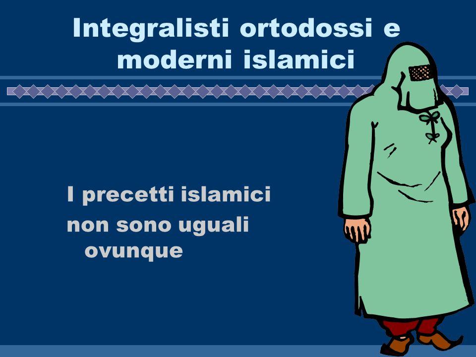 Integralisti ortodossi e moderni islamici