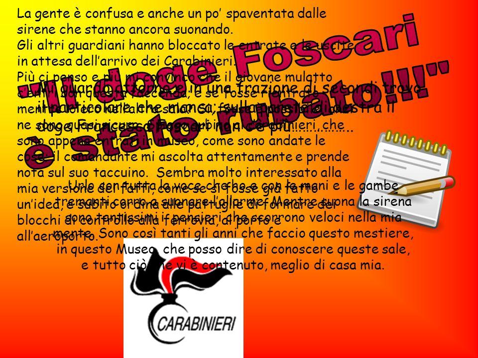 Il doge Foscari è stato rubato!!!