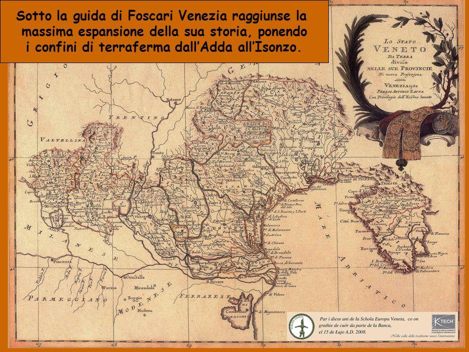 Sotto la guida di Foscari Venezia raggiunse la