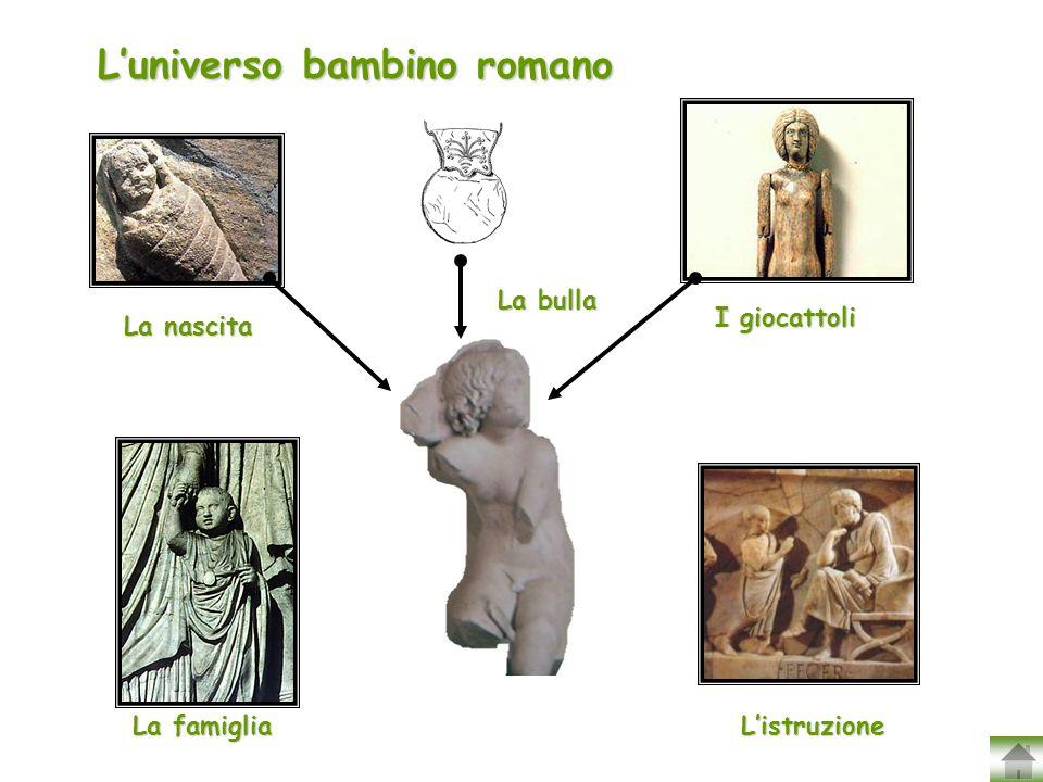 L'universo bambino romano