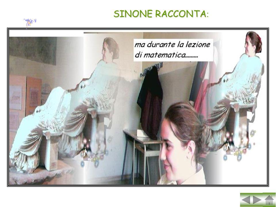 SINONE RACCONTA: