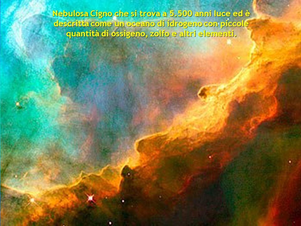 Nebulosa Cigno che si trova a 5