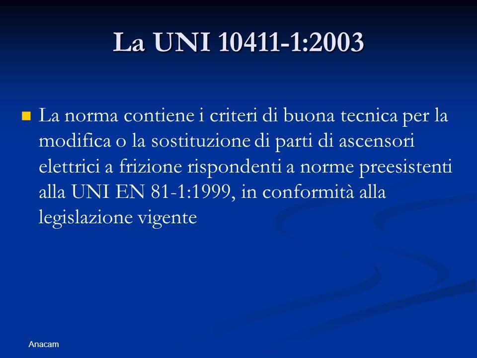 La UNI 10411-1:2003