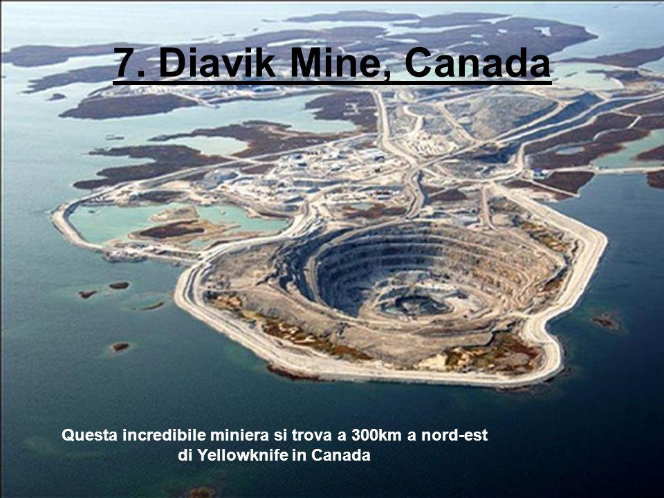 Questa incredibile miniera si trova a 300km a nord-est
