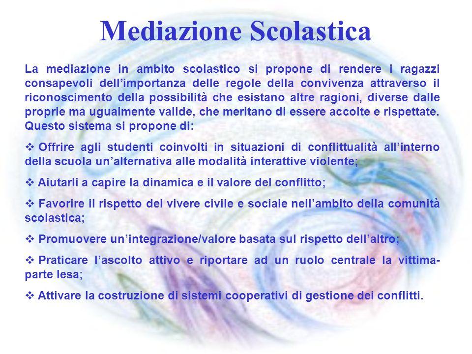 Mediazione Scolastica