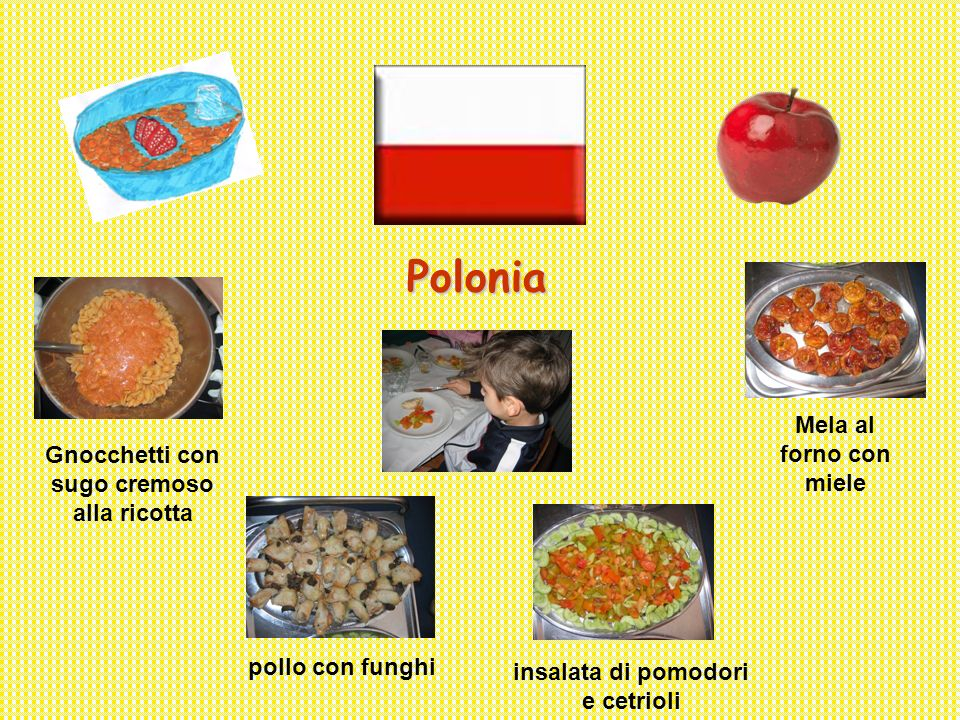 Polonia Mela al forno con miele