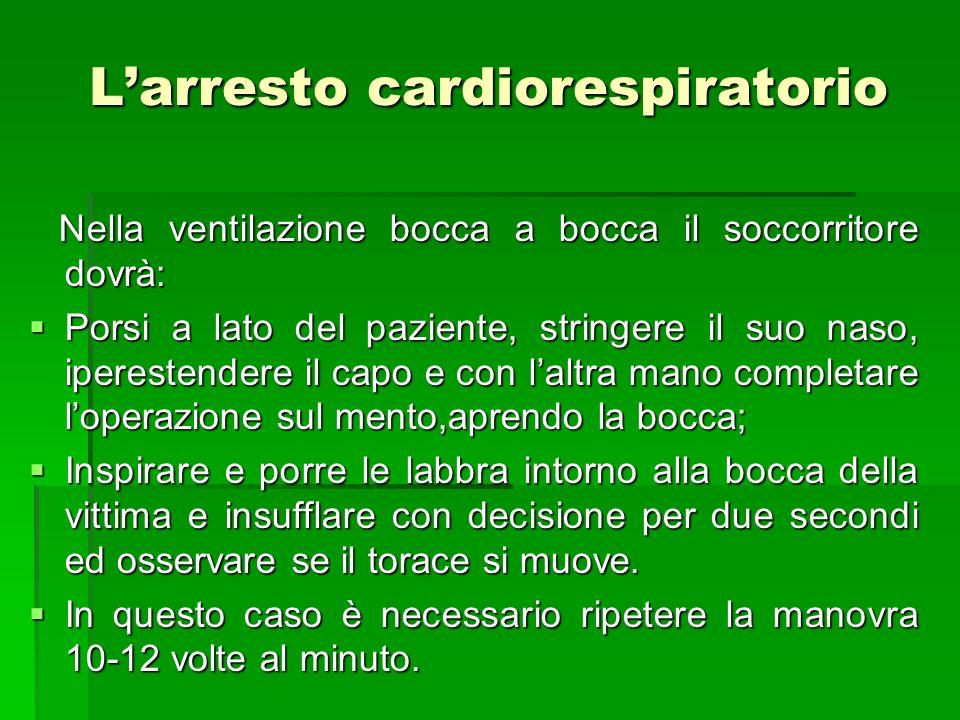 L'arresto cardiorespiratorio