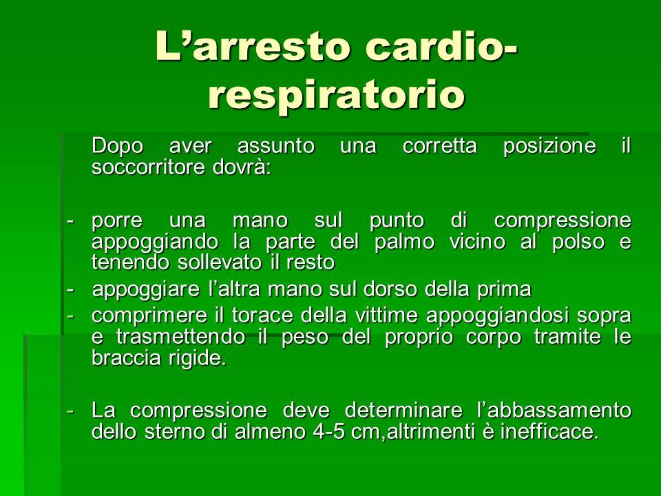L'arresto cardio-respiratorio