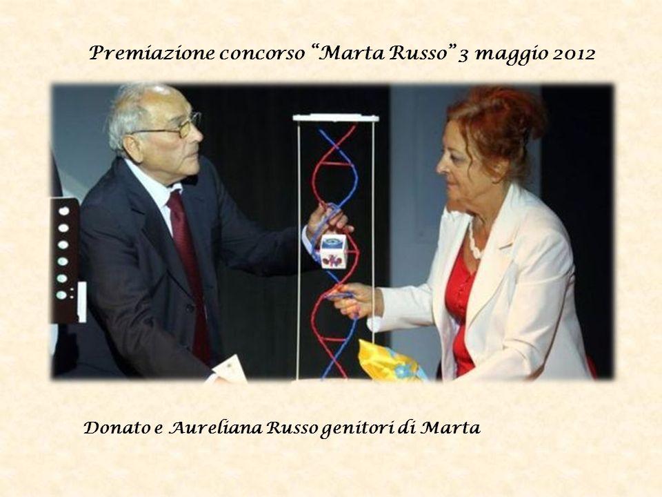 Premiazione concorso Marta Russo 3 maggio 2012