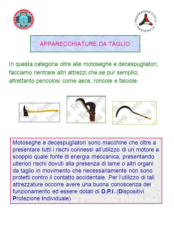 APPARECCHIATURE DA TAGLIO