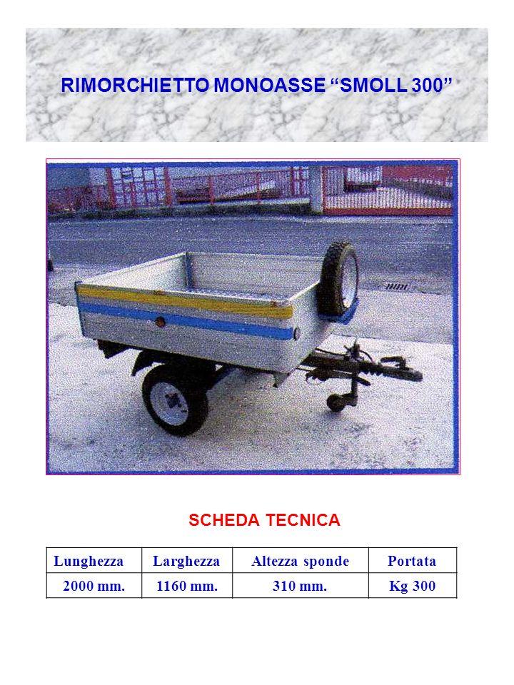 RIMORCHIETTO MONOASSE SMOLL 300