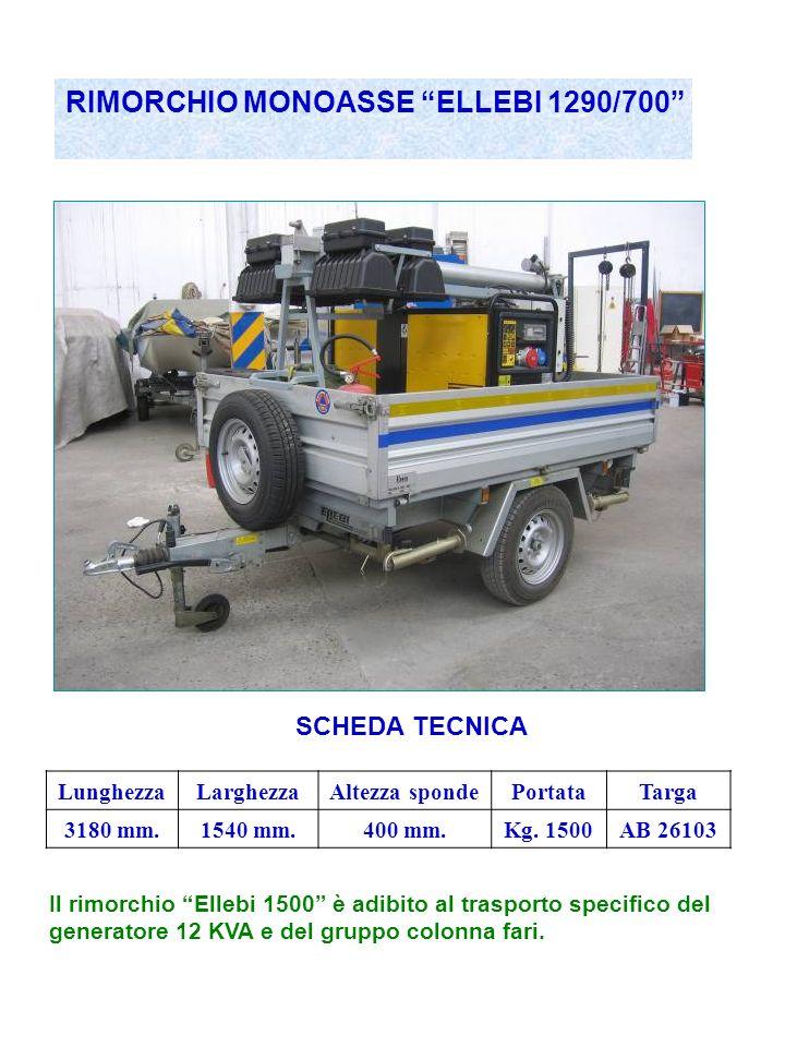 RIMORCHIO MONOASSE ELLEBI 1290/700