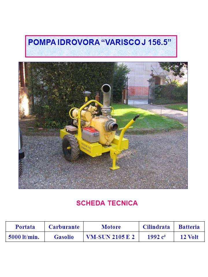 POMPA IDROVORA VARISCO J 156.5