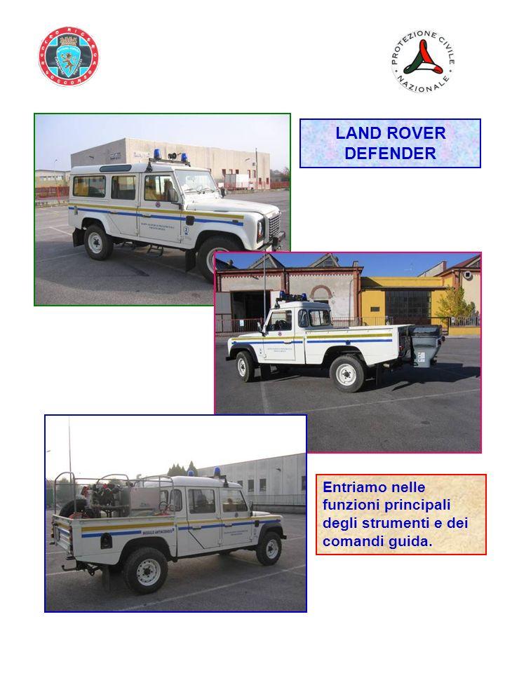 LAND ROVER DEFENDER Entriamo nelle funzioni principali degli strumenti e dei comandi guida.
