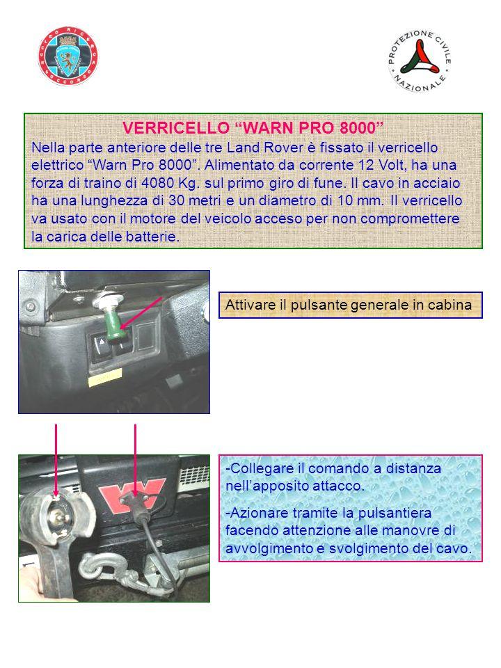 VERRICELLO WARN PRO 8000