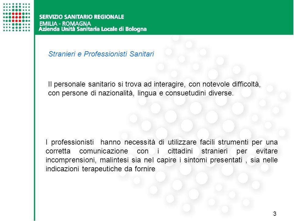 Stranieri e Professionisti Sanitari