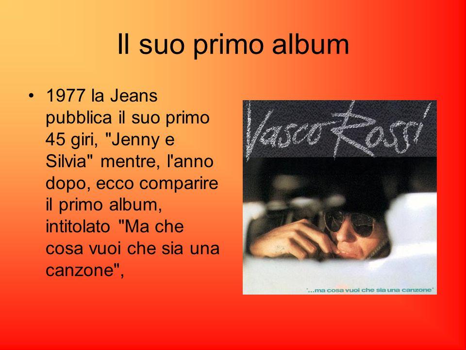 Il suo primo album