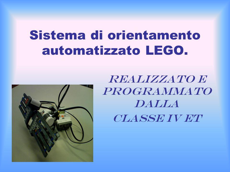 Sistema di orientamento automatizzato LEGO.