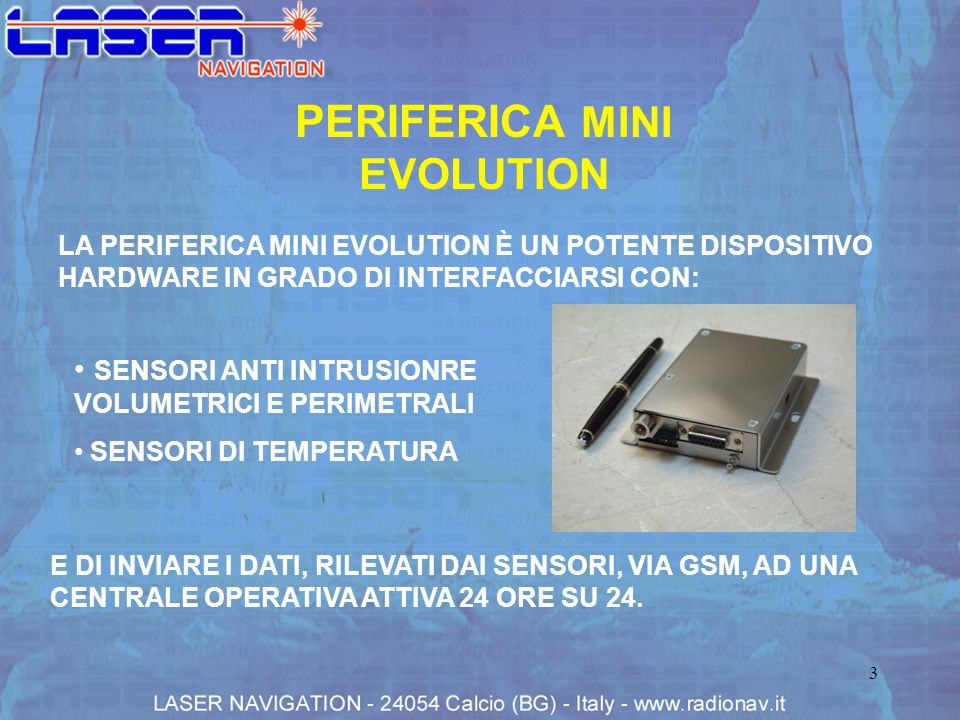 PERIFERICA MINI EVOLUTION