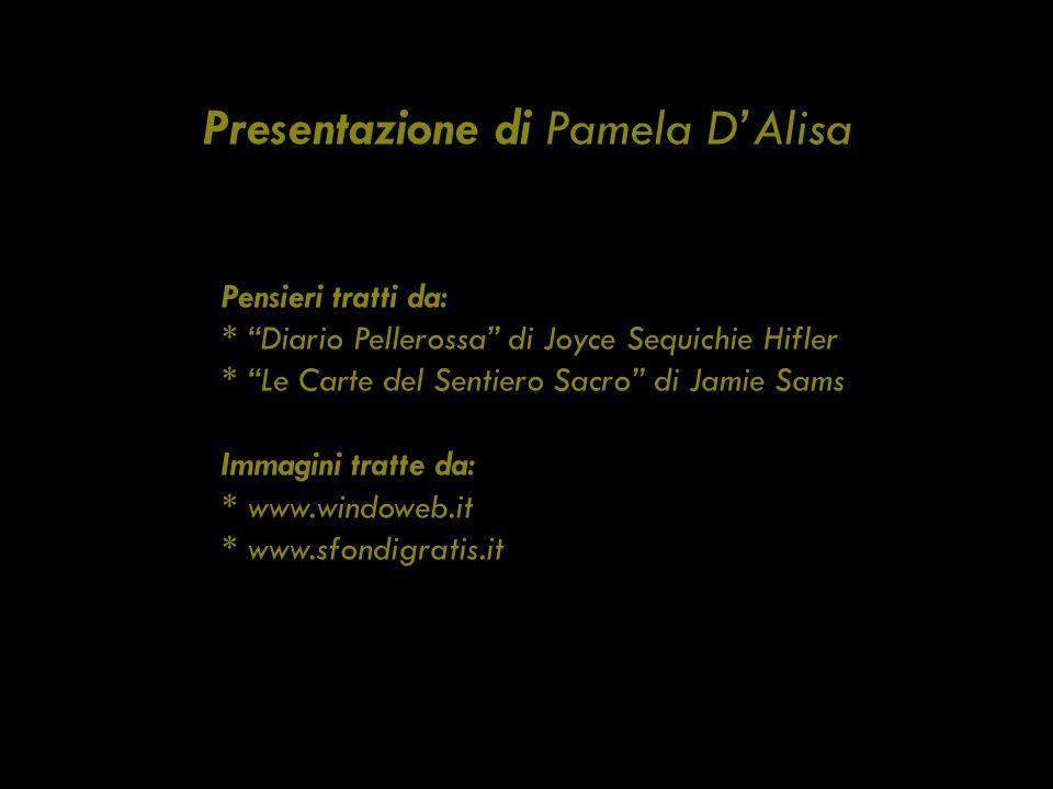 Presentazione di Pamela D'Alisa