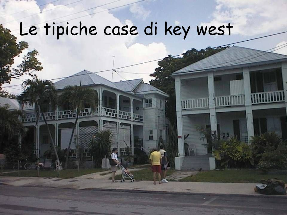 Le tipiche case di key west