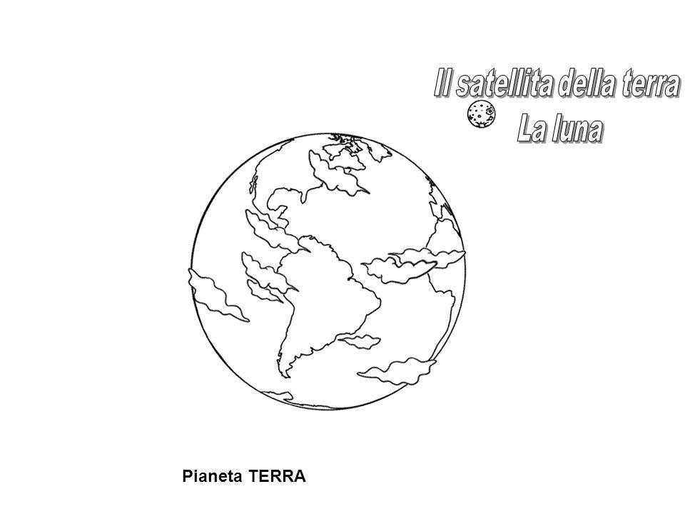 Il satellita della terra