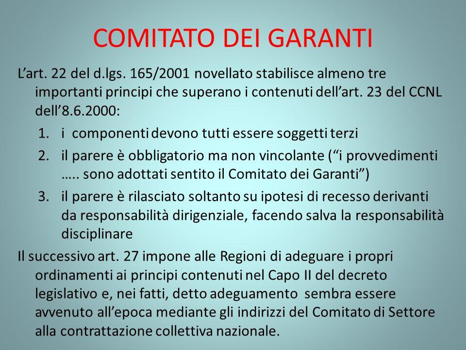 COMITATO DEI GARANTI